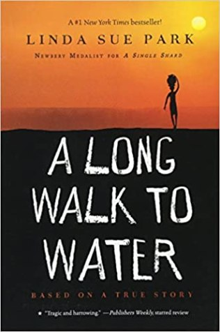 "Book Cover of ""A Long Walk to Water"" by Linda Sue Park"